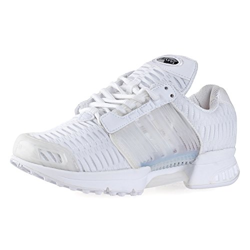 adidas Junior Boys Originals Climacool 1 Trainers in White- Climacool Technology White / White / White