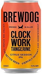 CERVEJA Brewdog CLOCKWORK TANGERINE LT 330 ML 330