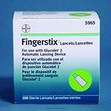 Bayer Fingerstix Lancet-Gauge 23 ga Length 1.24 mm - Case of 1200