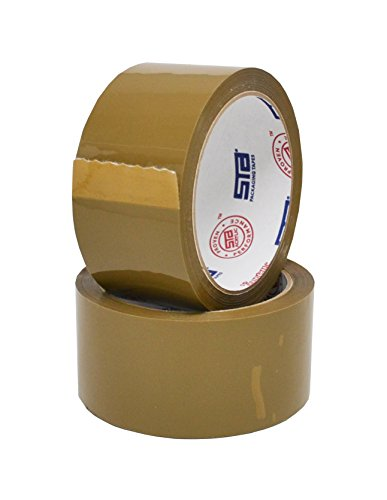 """2"""" x 55 Yard Tan Premium Packing Tape (36 Rolls) -, used for sale  Delivered anywhere in USA"""