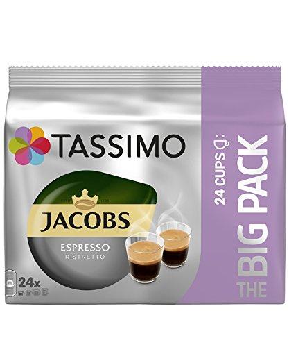 Tassimo Jacobs Espresso Ristretto 24x XL Drinks