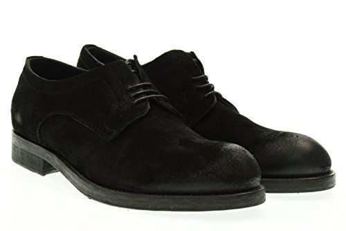 PAWELKS uomo scarpa stringata 15504 NERO Nero