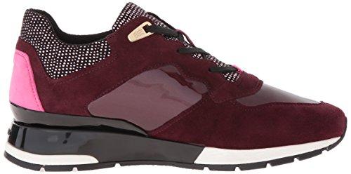 Geox D Shahira En Dame Sneakers Rød (dk Burgundyc7357) PZX3gVXJ