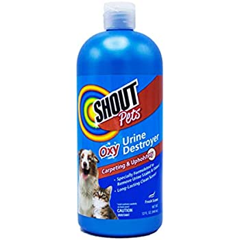 Amazon Com Shout For Pets Turbo Oxy Urine Destroyer
