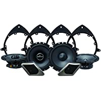 Alpine Electronics SPT-21GM Restyle 2-Way Speaker System for Full-Size Chevy, GMC Trucks or SUVs, Set of 8