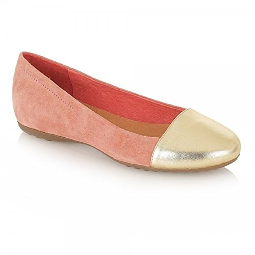 Ravel , Damen Ballerinas Pale pink/Gold