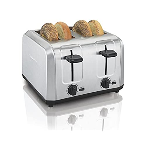 Hamilton Beach Brushed Stainless Steel 4 Slice Toaster (24910)