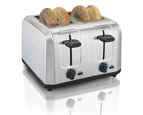 Hamilton Beach Brushed Stainless Steel 4-Slice Toaster (24910)