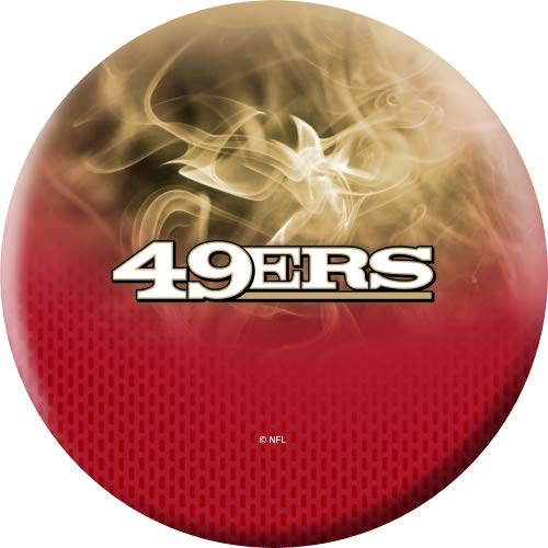 NFL-San-Francisco-49ers-On-Fire-Undrilled-Bowling-Ball