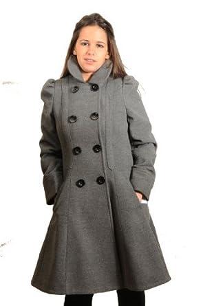 Manteau femme cintre gris