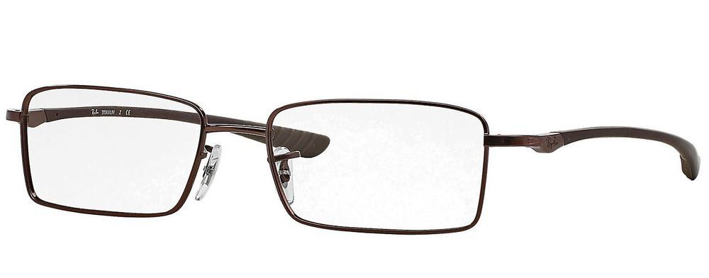 a870f090713 Ray Ban RX8705 Tech Eyeglasses-1107 Matte Light Brown-52mm  Amazon.ca   Health   Personal Care