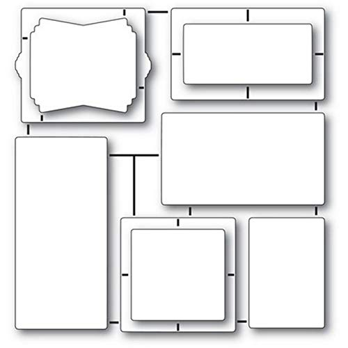 (Poppystamps - Dies - Art Deco Frames and Phrases (2148))