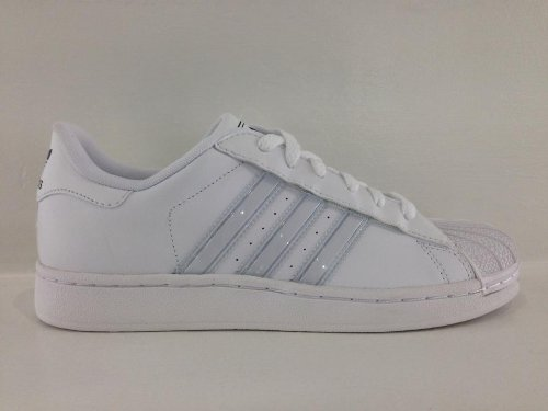 Adidas Superstar Gray Stripes