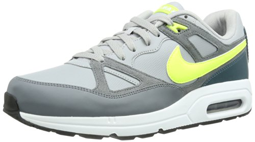 Nike Air Max Overspanning Heren Running Trainers 554.666 Schoenen Van De Wolf Grijs Volt Cool Grey 079