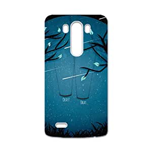 Meteor moon swing beautiful scenery Cell Phone Case for LG G3