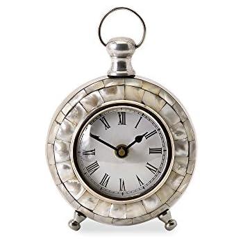 Amazon Com Imax Levine Desk Clock Home Amp Kitchen