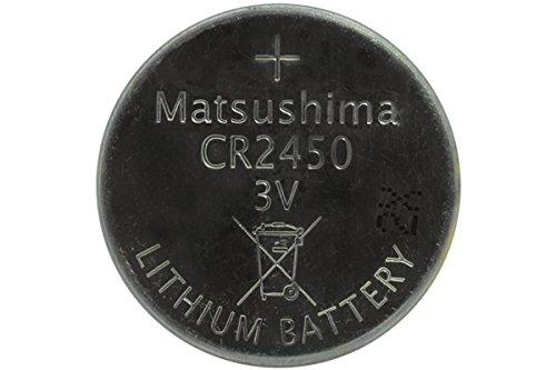 500 X Cr2450 Matsushima 3 Volt Lithium Coin Cell Batteries