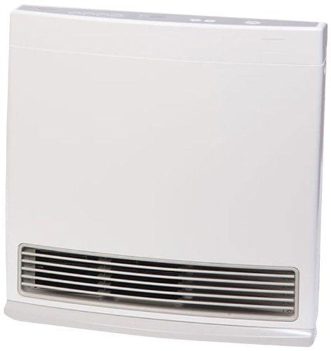 Propane Heater Wall Mount Fan Stainless Steel Indoor Warm 25 Watt 24000 BTU 1000 SQ FT NEW