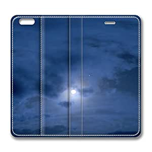 iPhone 6 4.7inch Leather Case - Night Sky Fashion Luxury Protective Slim Fit Skin Leather Cover For Iphone 6 [Stand Feature] [Slim - fit] Flip Leather Case Cover for New iPhone 6 wangjiang maoyi