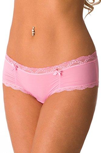 Velvet Kitten Get It Together Sexy Panty 192140 6, Pink (Boyshorts Pink)