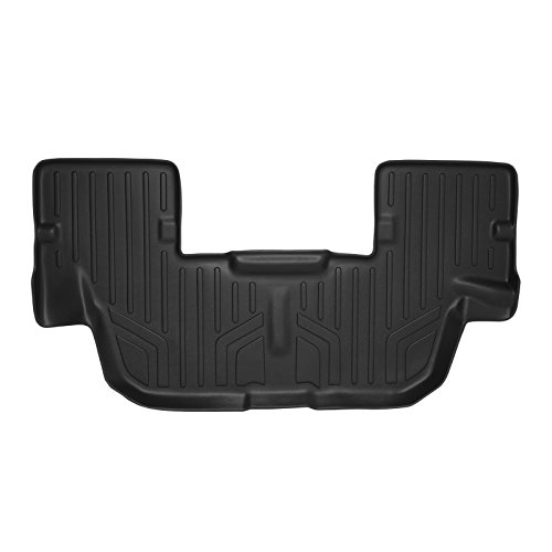 Liner Row Floor (SMARTLINER Floor Mats 3rd Row Liner Black for 2011-2018 Ford Explorer)