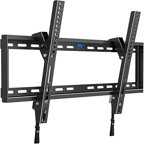 Mounting Dream Tilt TV Wall Mount TV Bracket for 42-70 Inch OLED, LCD and Plasma TVs, TV Mount up to VESA 600mm and 100 lbs, One-Piece Wall Plate Easy for TV Centering on 16