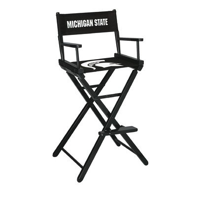 Imperial Officially Licensed NCAA Furniture: Tall (Bar Height) Directors Chair, Michigan State Spartans