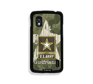 Shawnex US Army Girlfriend Camo Thinshell Case Protective Nexus 4 Case