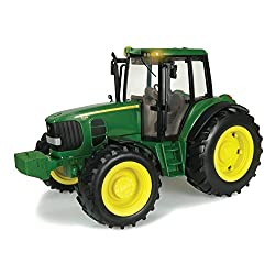 Ertl Big Farm 1:16 John Deere Tractor With Lights & Sounds, Truck and Tractor Play Vehicles Toys Push&Pul,playground equipment Preschool Pre-Kindergarten Activity Toy