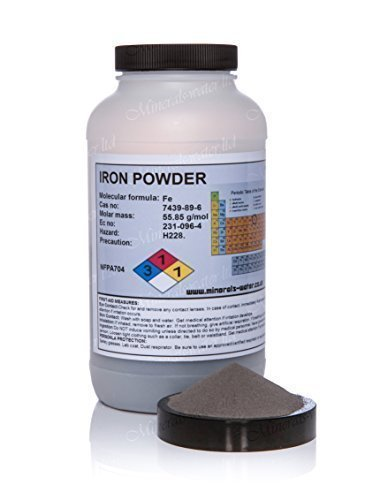 1kg Iron metal powder - high purity / top grade Minerals-water