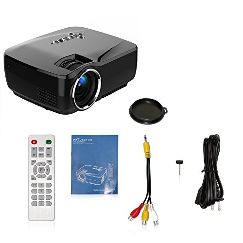 Android wifi bluetooth projector warranty included for Bluetooth projector for iphone