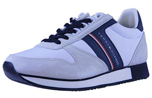Hombre Sneakers FM0FM01590 Tommy Blanco Hilfiger tzAFf