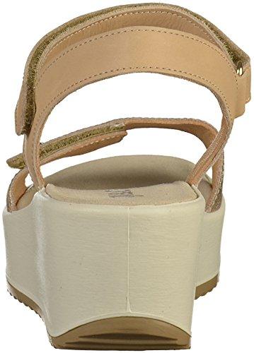 IGI&Co Zapatos Para Mujer de Las Sandalias con Cuña 1176377 Platinum Platinum