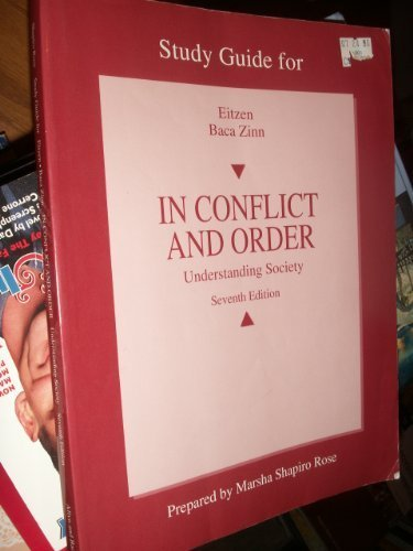 In Conflict and Order Understanding Society Seventh Edition