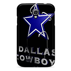 Hot FyX7719WEbj Cases Covers Protector For Galaxy S4- 3d Dallas Cowboys