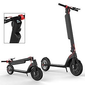 41UyG7OjOIL. SS300 HAOYF E-Scooter Teenager degli Adulti Monopattino Elettrico 250W, per Progettazione Piegante di età 14+ Facile da…