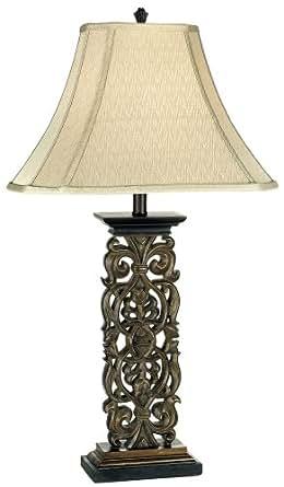 Amazon Com Fleur De Lis Table Lamp Home Improvement