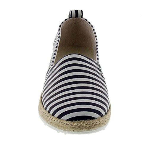 Blanco Marc Mujer Emily Shoes weiß Alpargatas 00192 PpOpIn6