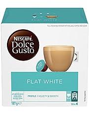 NESCAFÉ DOLCE GUSTO Flat White Coffee Capsules Box of 16 servings