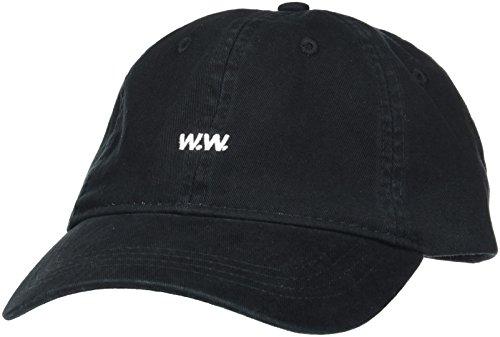 Wood Wood Low Profile Cap, Gorra de béisbol para Hombre Negro (Black)
