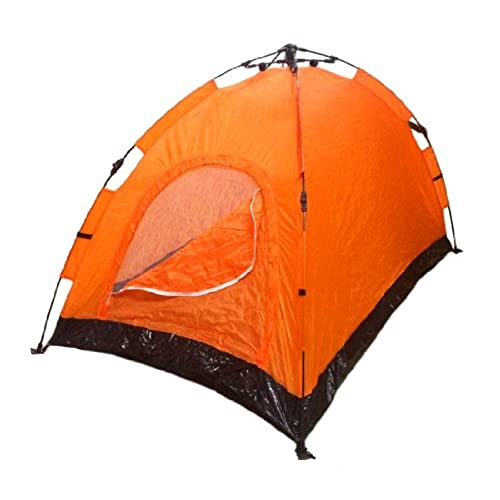 Instant Automatic Pop Up Backpacking C&ing Hiking 2 Man Tent Orange Sealed  sc 1 st  Amazon.com & Unique Tents: Amazon.com