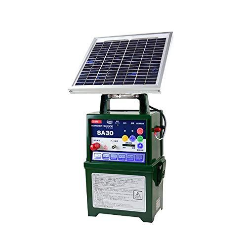 タイガー 電気さく用電源装置 本器 SA30SL (型式TBS-SA30SL) [ソーラータイプ/防雨型] ボーダーショック 電気柵 野生動物 イノシシ 獣害防止 ハオ 代不 B07SS6XBZ9