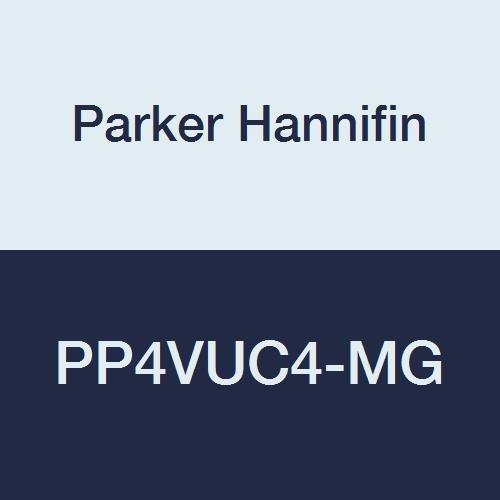 - Parker Hannifin PP4VUC4-MG TrueSeal Polypropylene Union Connector Ball Valve, 1/4