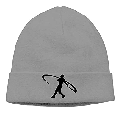 EWIED Men's&Women's Ken Griffey Jr. Patch Beanie MountaineeringDeepHeather Hats For Autumn And Winter