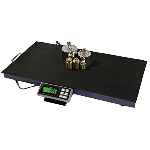 AMSTON SCALES 400 LB x 0.1 LB 38 x 20 Inch Platform Vet Veterinary Animal Farm Livestock Dog Goat Calf Pig Sheep 4H Digital Scale - Livestock Farms