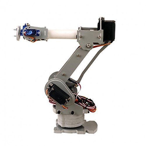 SainSmart 6-Axis Desktop Robotic Arm & Grippers, Assembled for Arduino UNO MEGA2560 from SainSmart