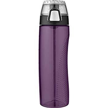Thermos 24 Ounce Tritan Hydration Bottle with Meter, Deep Purple