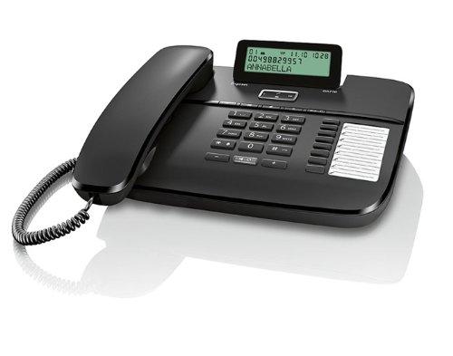 17 opinioni per Gigaset DA710 Telefono Fisso, Display Alfanumerico Regolabile, Nero [Italia]