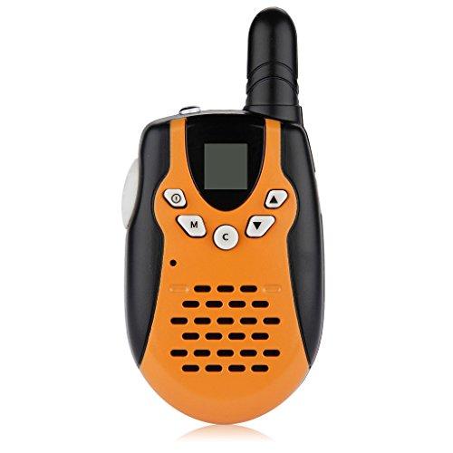 Great Deal! Floureon Twin Walkie Talkies 22 Channel FRS/GMRS UHF462-467MHz 2-Way Radio 3KM Range Int...