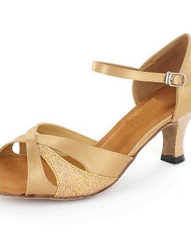 ShangYi Sandales latines personnalisées femmes personnalisés talon avec des chaussures de danse de buckie (plus de couleurs) , black-us8.5 / eu39 / uk6.5 / cn40 , black-us8.5 / eu39 / uk6.5 / cn40